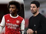 Willian admits he is 'learning a lot' from Mikel Arteta at Arsenal