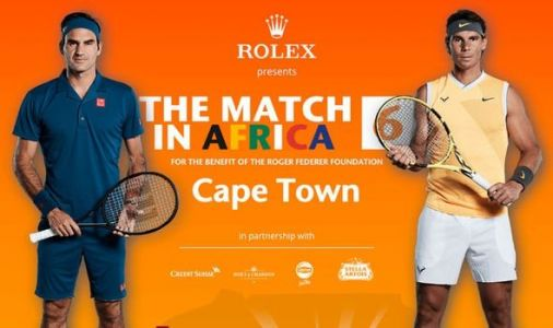 Why are Federer and Nadal playing exhibition match in South Africa? The touching reason