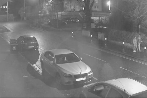 Police trying to track down couple spotted on CCTV following suspicious car fire