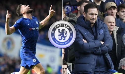 Chelsea fans send Olivier Giroud message to Frank Lampard after Tottenham goal