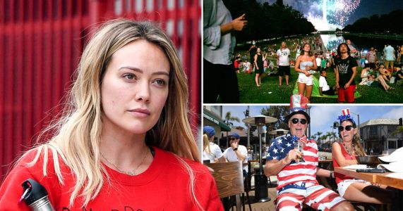 Hilary Duff calls out Fourth of July partiers amid coronavirus pandemic and 'Karens' who won't wear masks