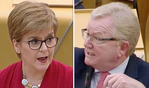 Nicola Sturgeon shamed for SNP's 'underfunding' of police and 'putting the public at risk'