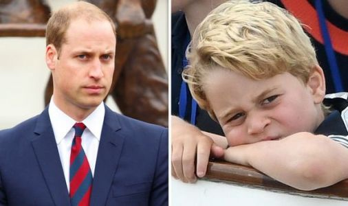 Prince William's fears over Prince George revealed: 'I was terrified!'