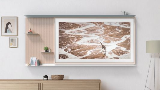 Samsung The Frame gets a new TV accessory - and it's literally a shelf