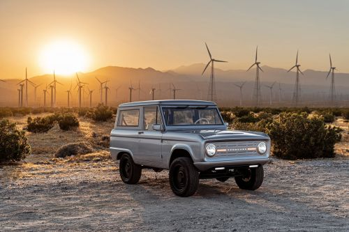 Classic 1960s and '70s Ford Broncos get transformed into 600-horsepower electric SUVs by this California startup