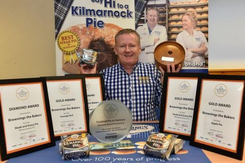 Scottish Football's best pie: Darvel Juniors take top title at awards