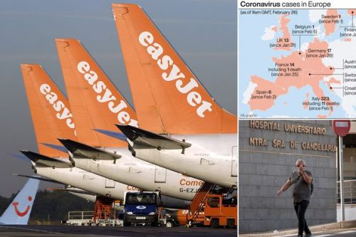 Brits face coronavirus holiday chaos with flights axed as Europe battles outbreak