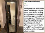 Girlfriend asks boyfriend to sell his 'cursed mirror' after his exes 'got changed in front of it'