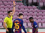 Barcelona coach Quique Setien refuses to blame Ansu Fati after red card