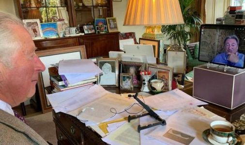 Prince Charles's chaotic 'filing system' sends social media into a frenzy - PICTURED