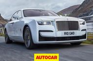 Rolls-Royce Ghost video review: luxury saloon driven