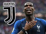 Manchester United star Paul Pogba considering Juventus return