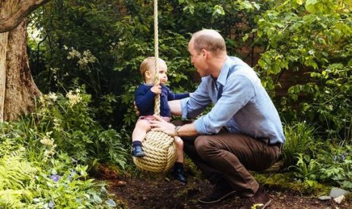 Prince Louis pictured in adorable Father's Day message to Prince William
