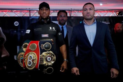 Anthony Joshua vs Kubrat Pulev postponed amid coronavirus crisis