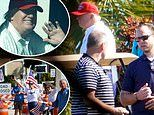 Trump spends first weekend as ex-president playing golf at his West Palm Beach club