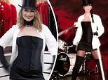 Shania Twain, 55, reveals she can STILL get into her Man! I Feel Like A Woman! music video outfit