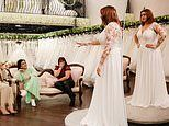 Bride's entourage say gown makes her look like 'a rugby player' in Say Yes To The Dress Lancashire