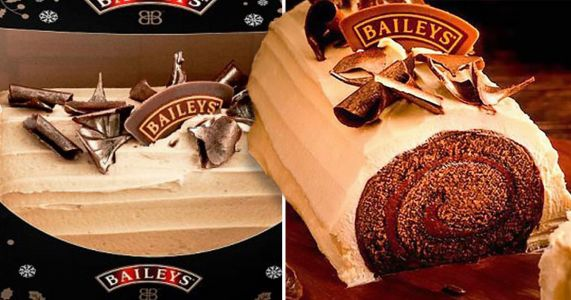 Asda is selling a Baileys Chocolate Yule Log for just £5