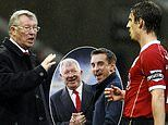 Gary Neville recalls how telling Sir Alex Ferguson to 'f*** off' led to the worst 'hairdryer' ever