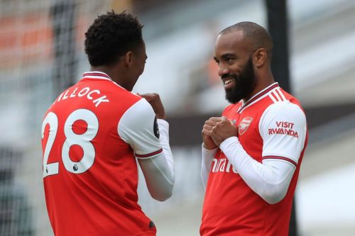 Joe Cole compares Alexandre Lacazette to Arsenal legend Ian Wright after Wolves win