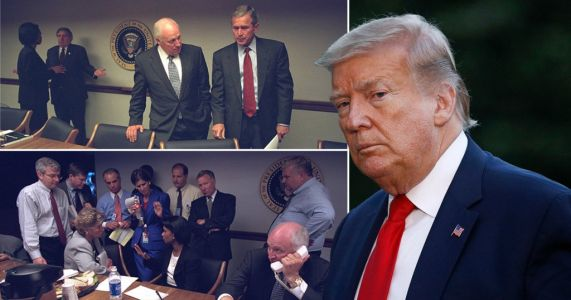 Inside the bunker where Donald Trump hid from George Floyd protesters