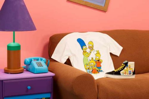 Vans launches new The Simpsons collection