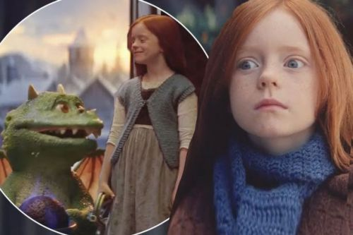 Who is the little girl in the John Lewis Christmas advert? Meet Excitable Edgar's best pal Ava