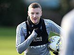 Jamie Vardy will be part of Leicester's squad to face Aston Villa in Carabao Cup quarter final