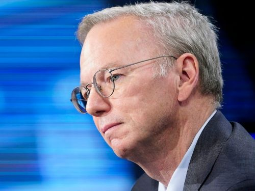 Former Google CEO Eric Schmidt jumped to the company's defense as it faces a landmark antitrust lawsuit: 'There's a difference between dominance and excellence'