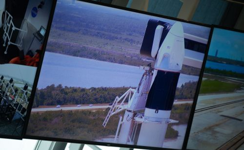 NASA adding new television views for SpaceX crew launch