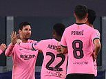 Juventus 0-2 Barcelona: Ousmane Dembele and Lionel Messi down Italians