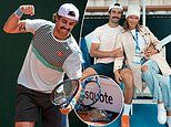 Tennis star Jordan Thompson destroys racquet at the Geneva Open