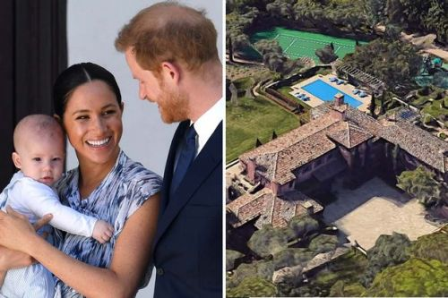 Prince Harry and Meghan Markle move into £11million mansion with nine bedrooms