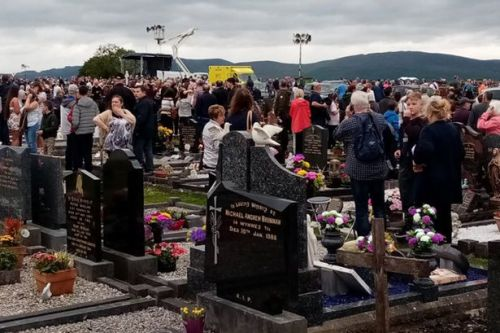 Car ploughs into mourners at packed graveyard ceremony in Ireland injuring several