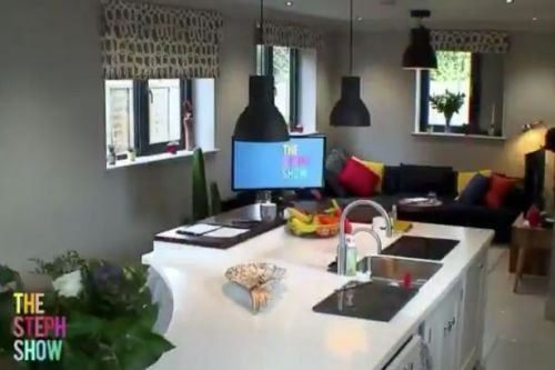Inside Steph McGovern's colourful home as she presents new show from her kitchen