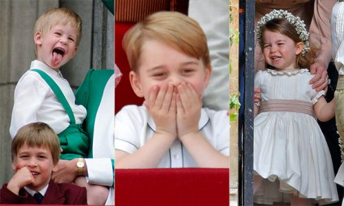 Royal kids' mischievous moments: Princess Charlotte, Prince Louis and more sweet snaps
