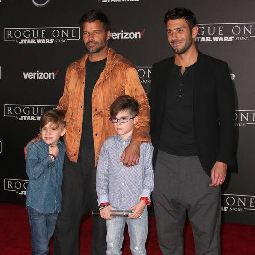 Ricky Martin's husband and children helped him perfect new music during lockdown