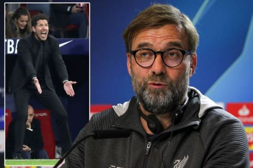 Liverpool boss Jurgen Klopp predicting touchline fireworks in Diego Simeone meeting