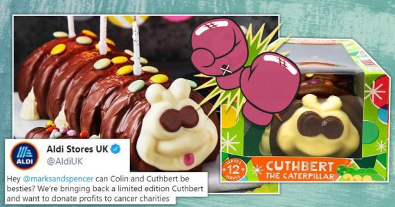 Aldi asks for Colin to be 'bestie' as Cuthbert returned to shops despite lawsuit