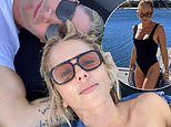 Michael Clarke shares loved-up selfie with girlfriend Pip Edward aboard $15million superyacht
