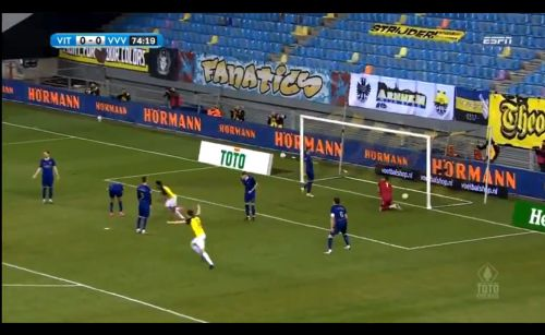 : Flourishing Broja gets on the scoresheet for Vitesse
