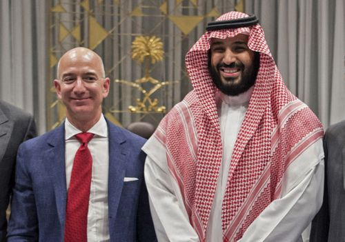 Jeff Bezos phone hack claim is a 'total lie' says Saudi Crown Prince's minister as United Nations demand probe