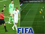 Fifa planning to use ROBOT referees for offside calls in 2022 World Cup in latest radical technology change