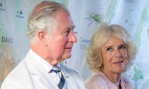 Royal tour of the Caribbean - Duchess of Cornwall's cheeky kiss, Prince Charles visits Botanical Gardens