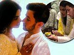 Nick Jonas, 25, gazes adoringly at fiancée Priyanka Chopra, 36, for engagement ceremony in Mumbai