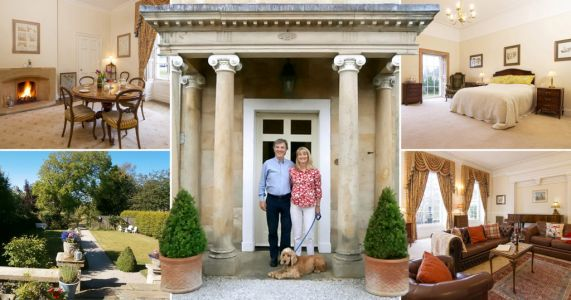 Couple raffle £1m Georgian mansion for £2.50 a ticket
