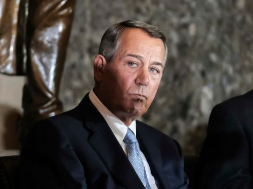 Boehner said the Capitol riot was 'one of the saddest days' of his life and he would rather set himself 'on fire than run for office again'