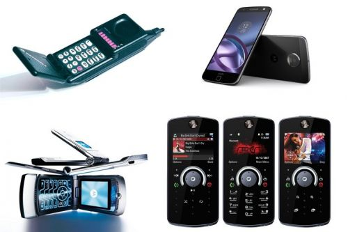 Motorola phones through the years: The best and the worst, in pictures