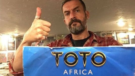 DJ is playing Toto's hit Africa on a loop all night long - for charity