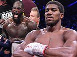 Anthony Joshua hits back at rival Deontay Wilder following criticism of his win over Andy Ruiz Jr